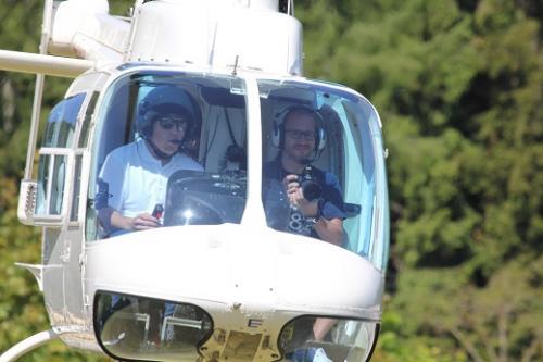 25 Jahre Jubiläum Helikopter