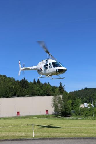 25 Jahre Jubiläum Helikopterstart