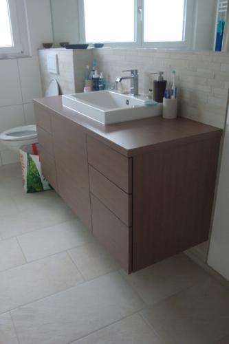 Badezimmermoebel Holz Tip On Öffnungsfunktion