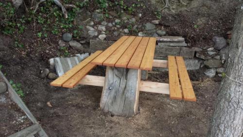 Picknick Tisch mit Bänken