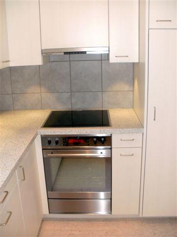 Küche, Backofen, Kochfeld, Dampfabzug