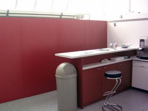Küchenthresen rot